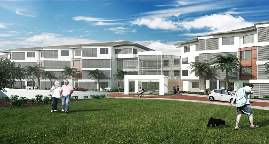 Calvary Ryde RAC Building Render- For website