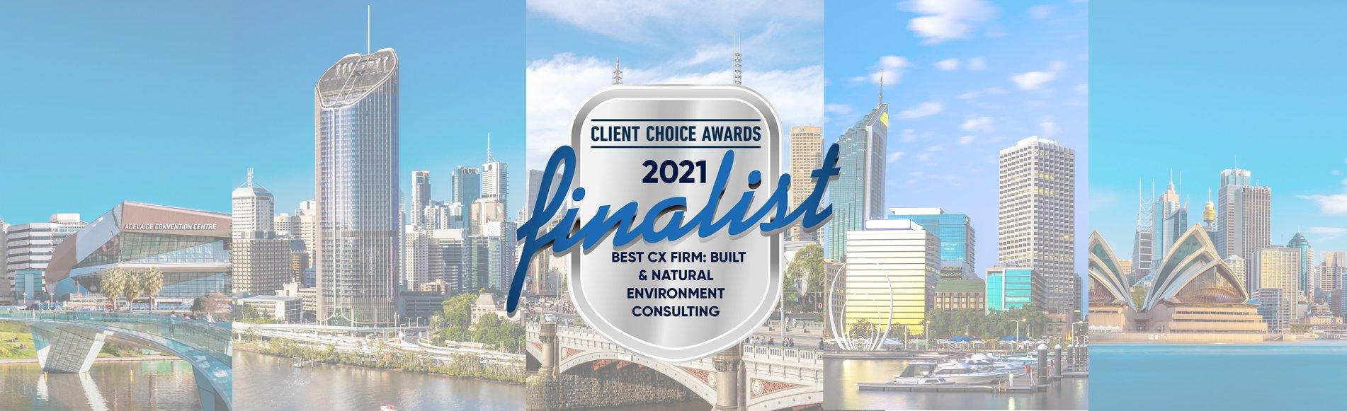 Client Choice Awards Finalist