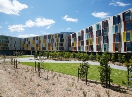 Monash University's four new Halls of Residence officially open