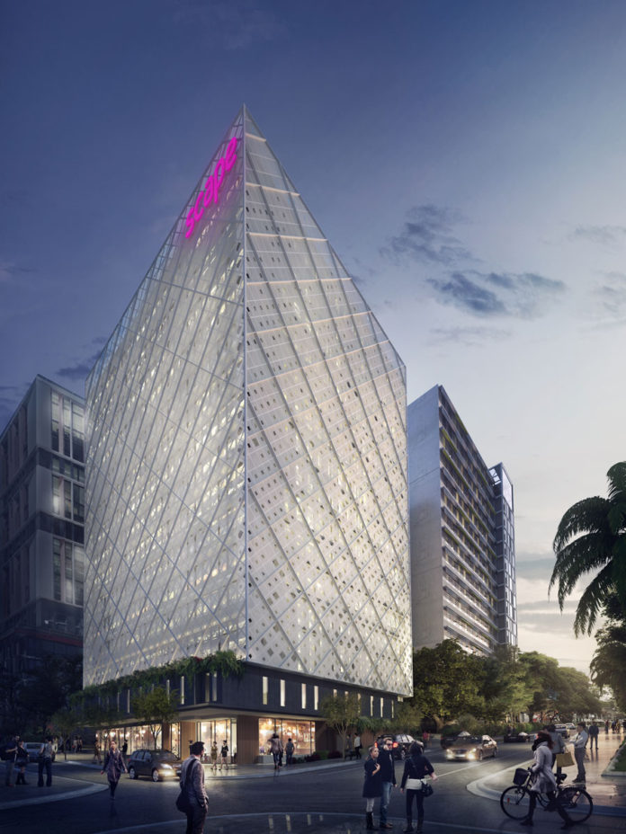 QLD - Artist's impression of Scape Student Accomm in Southbank.jpg
