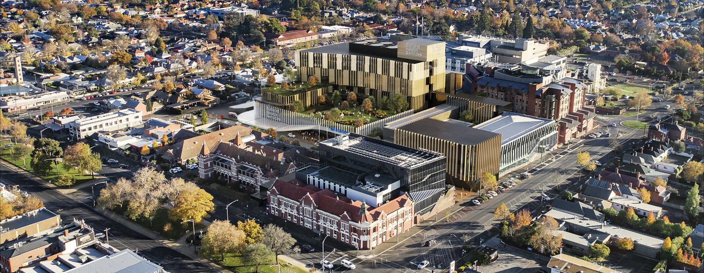 VHHSBA-Ballarat-Base-Hospital-redevelopment-aerial-render-final-banner