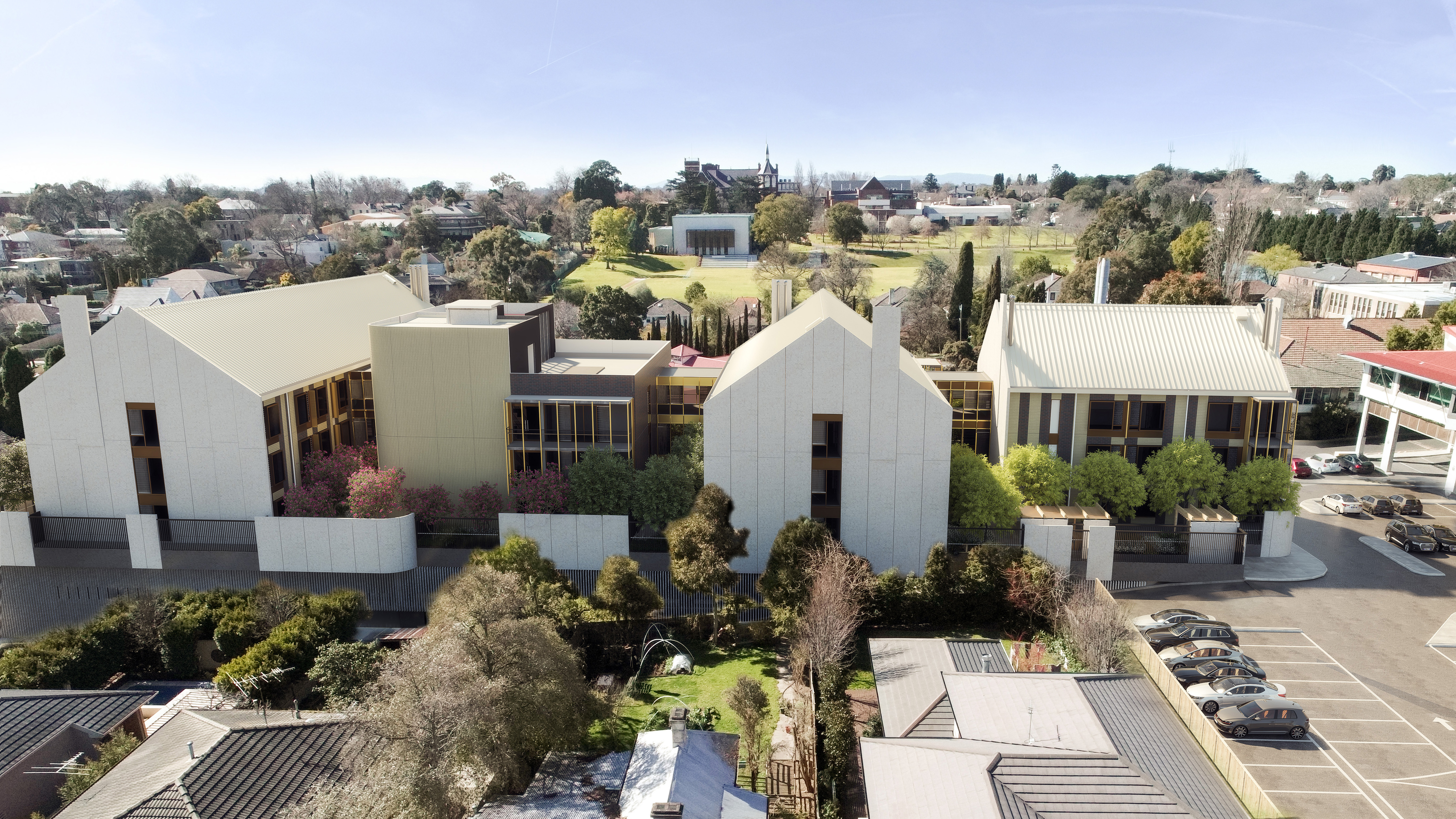 St George Aged Care Aerial