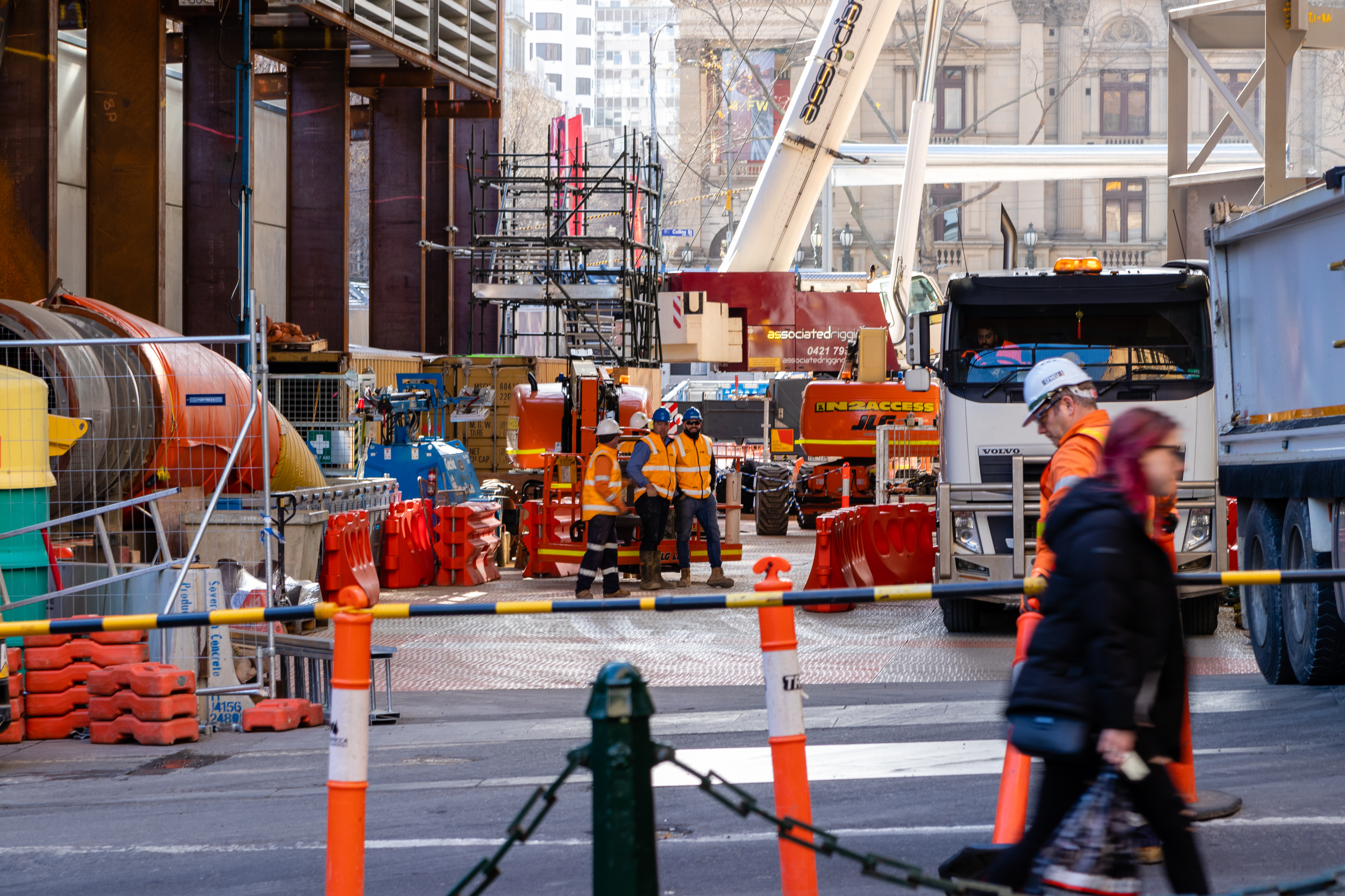 Infrastructure Melbourne Project